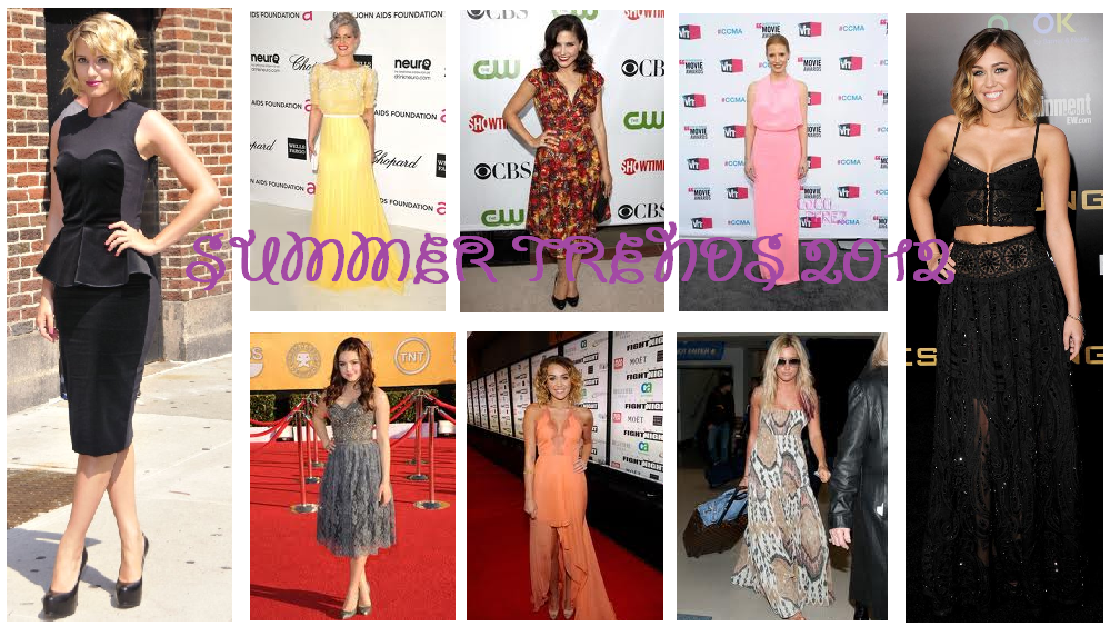 Is Summer! <3 Fashion Trend Report Summer 2012