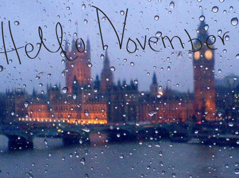 November is here!